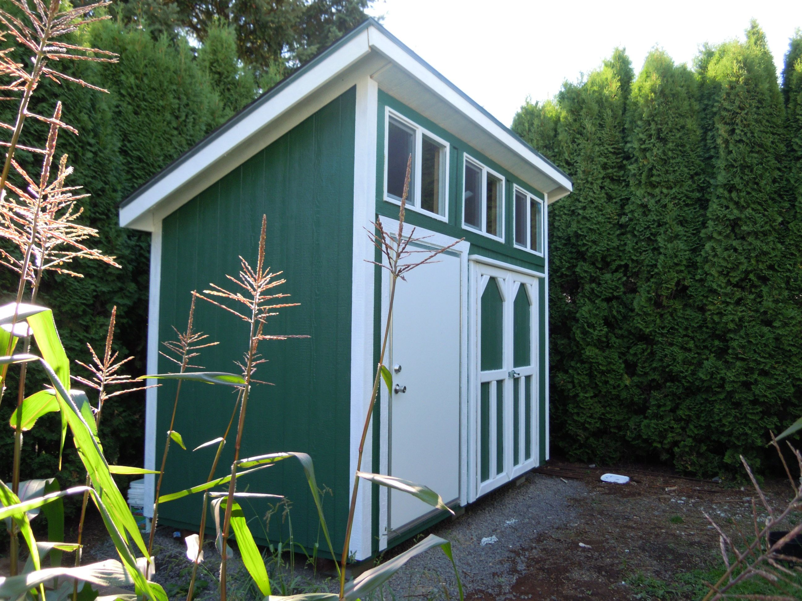 storage sheds shed cheap before a with and costs pictures paint less img for guide make