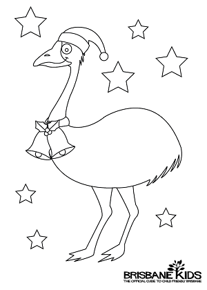 Christmas Colouring Sheets Themed With Australian Animals Brisbane Kids Christmas Colors Aussie Christmas Australian Christmas