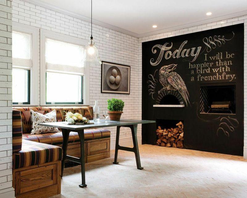 Einrichtungsideen für Sitzecke in der Küche-platzsparend und - einrichtungsideen sitzecke in der kuche