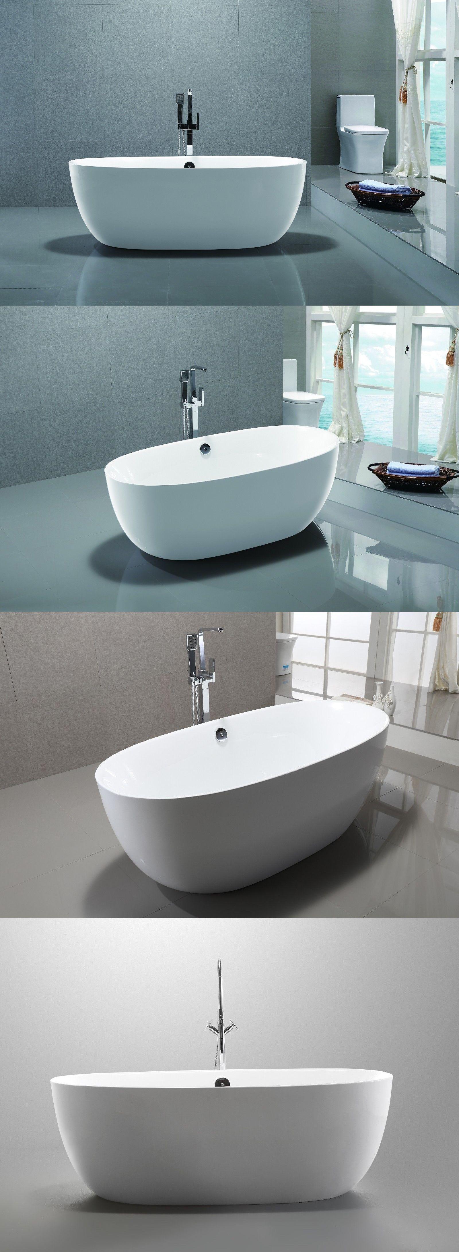 Bathtubs 42025: 67 Vanity Art Bathroom Free Standing Acrylic ...