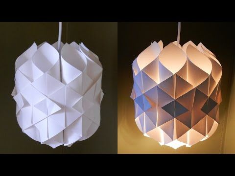 Paper Lamp Cathedral Light