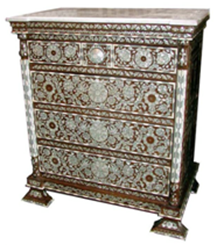 Fabulous antique Campaign chest of drawers mahogany circa ...