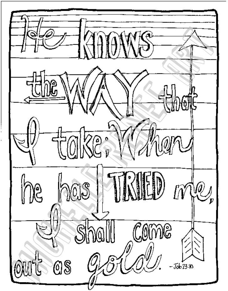 Job Coloring Page Sunday School Coloring Pages Bible Coloring