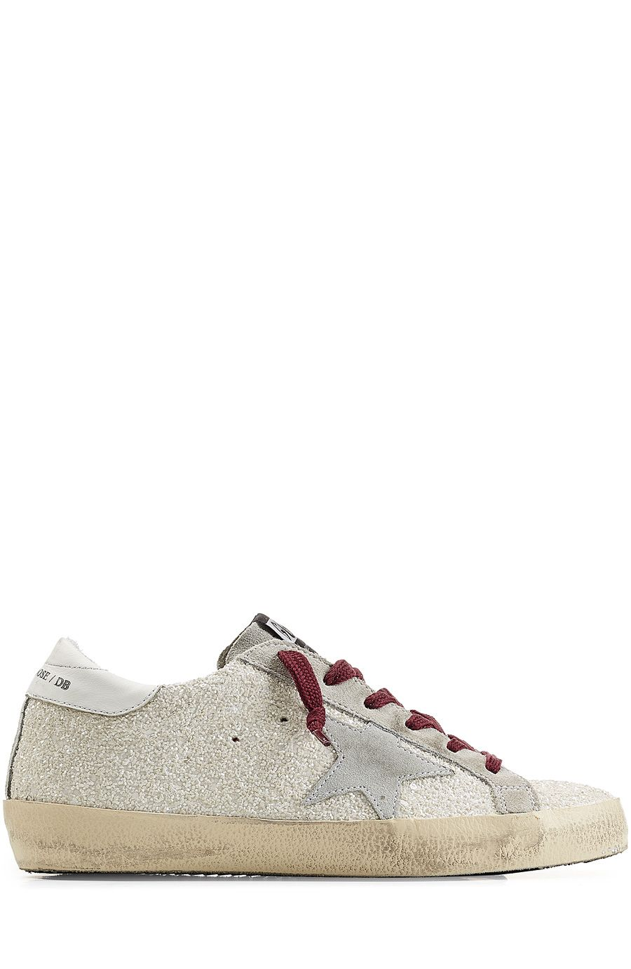 GOLDEN GOOSE - Super Star Glitter Sneakers | STYLEBOP.com