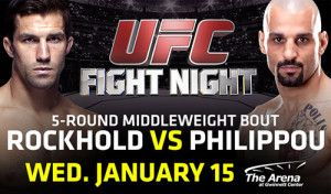 UFC® DEBUTS AT THE ARENA AT GWINNETT CENTER   BATTLE OF TOP 10 MIDDLEWEIGHTS