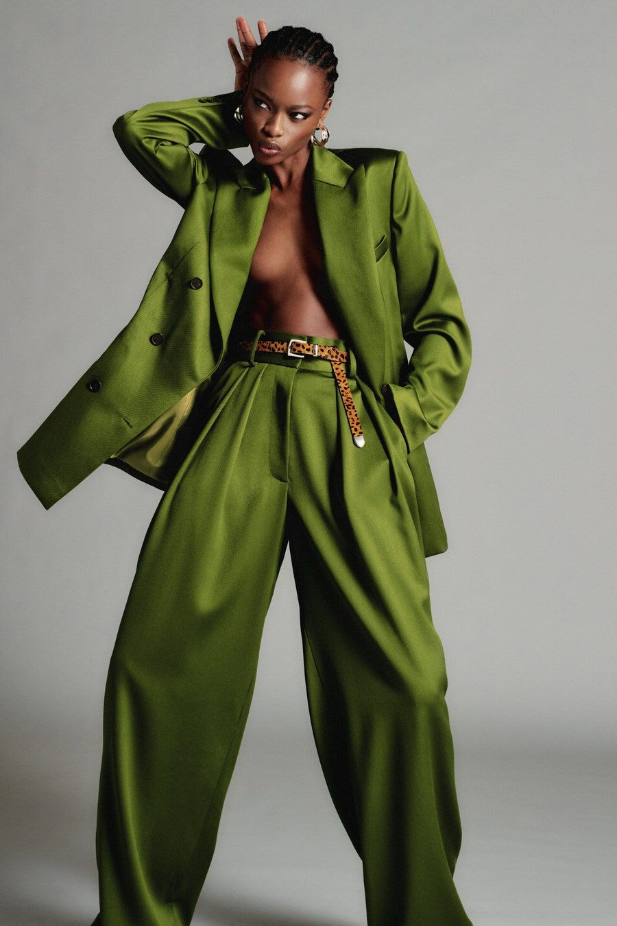 Défilé de mode Brandon Maxwell Resort 2021   – Emerald Green Fashion Style