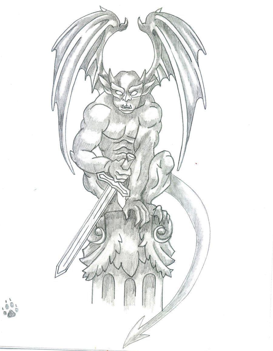 Tattoos Designs Ideas Gargoyle Tattoo Designs Gargoyle Tattoo Gargoyle Drawing Picture Tattoos