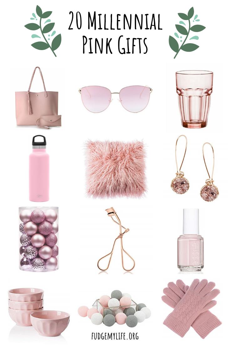 20 Millennial Pink Gift Ideas For Every Millennial Fudgemylife