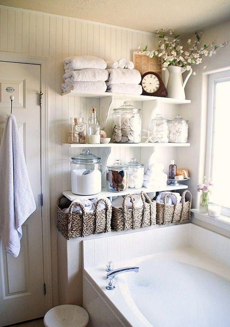 70 Good Apartment Bathroom Decoration Ideas Shabby Chic Bathroom Decor Chic Bathroom Decor Chic Bathrooms