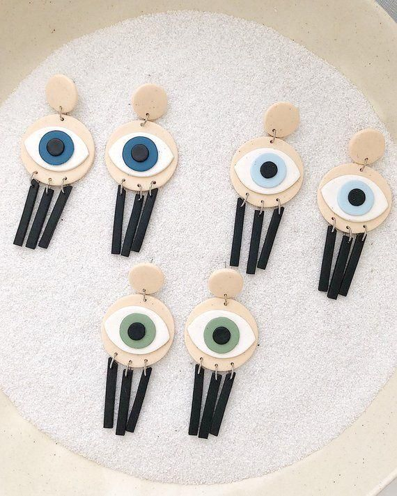 #accessories  #accessory  #California  #Clay  #daintyjewelry  #dangles  #earrings  #Evil  #Eye  #Eyes  #fancy  #halloween  #handmade  #handmadejewelry  #jewelry  #jewelryaesthetic  #jewelrybracelets  #jewelryorganizer  #jewelrysimple  #jewelrytrends  #polymer  #style  #trendy #Halloween #Earrings Eyes Halloween Earrings Evil Eye Polymer Clay Accessory Trendy Dangles Fancy Accessories Polymer Clay Handmade Jewelry California Style -   -