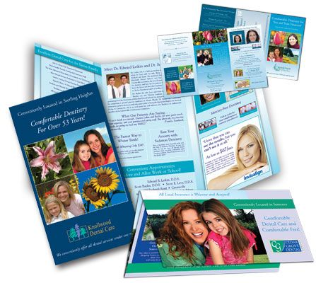 Omega Large Dental Marketing Brochure Sample | Businesses