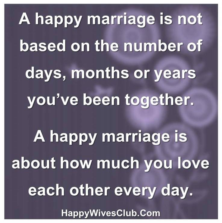 Happy Marriage Quotes | A Happy Marriage Is Not Based On Numbers Amazing Things