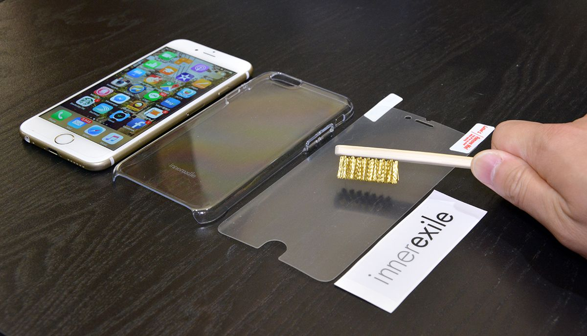 hot sale online 606fa d3c3a Watch this iPhone screen protector heal scratches within a second ...