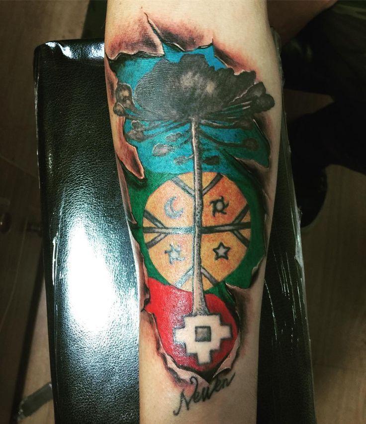 Resultado De Imagen Para Gato Colo Colo Tattoo Tatuajes Mapuches