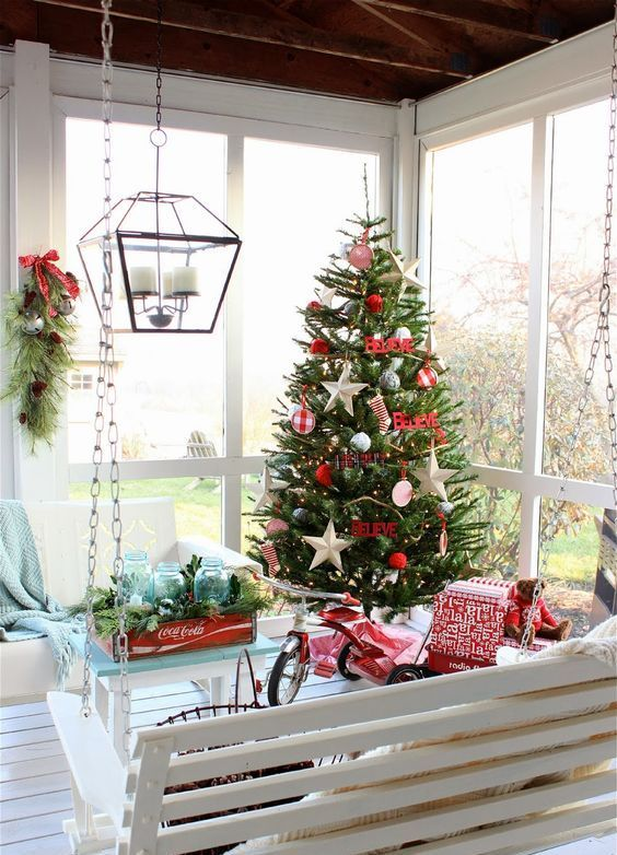 27 Screened And Roofed Back Porch Decor Ideas Christmas