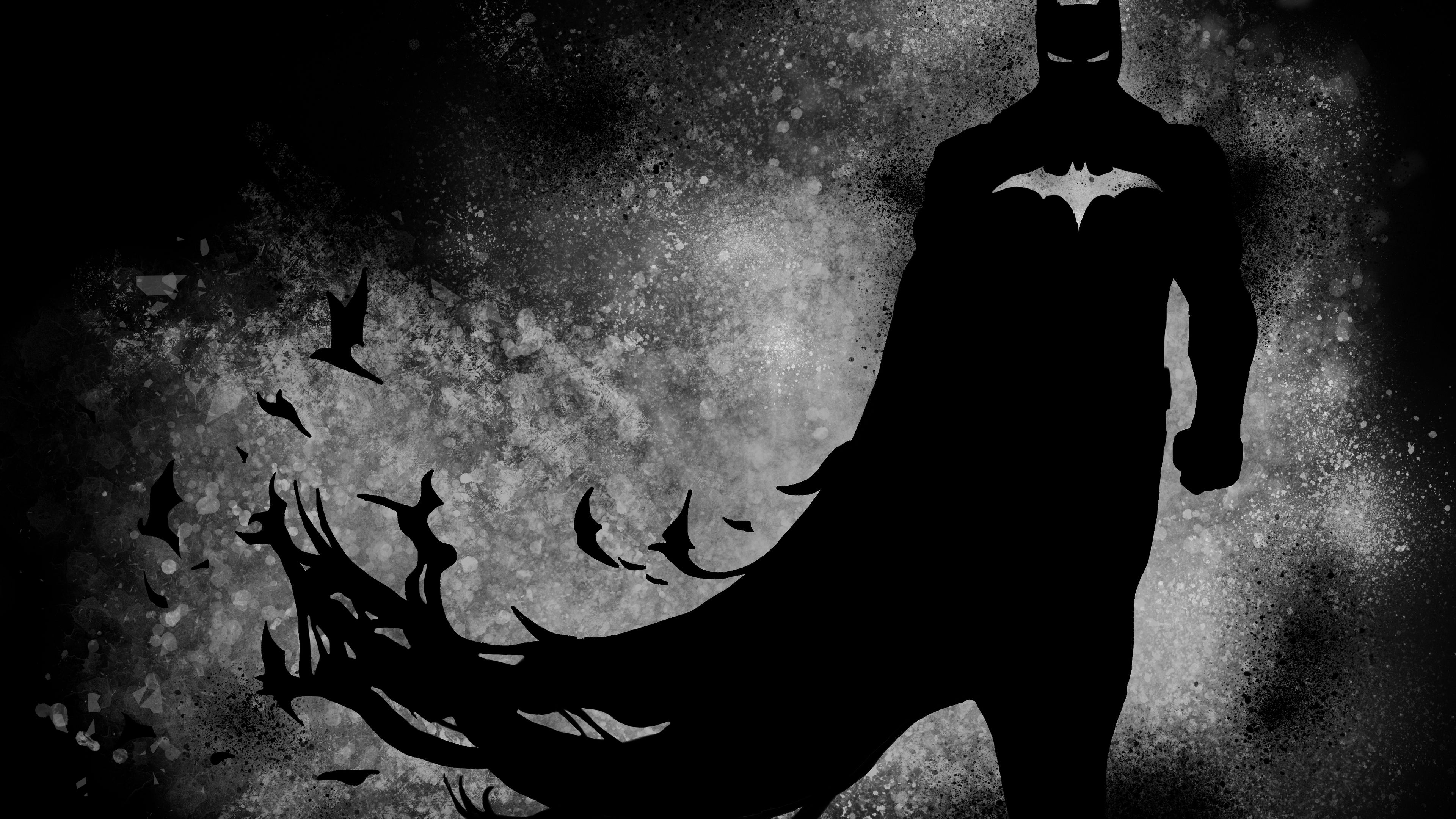 The Dark Knight Paint 4k Superheroes Wallpapers Hd Wallpapers Behance Wallpapers Batman Wallpapers Art Batman Wallpaper Superhero Wallpaper Batman Painting