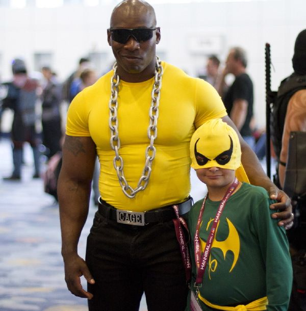 Cage And Iron Fist Cosplay Pinterest Cosplay Superhero