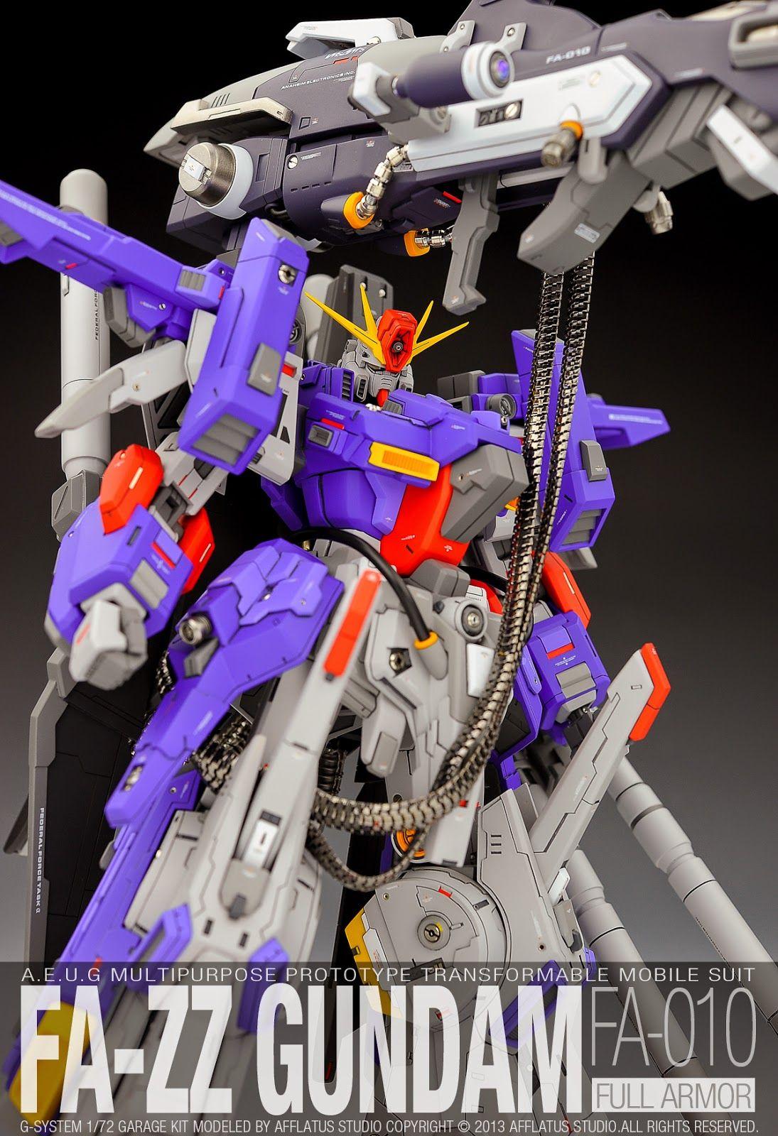 Gs 1 72 Fa Zz Full Armor Zz Gundam Painted Build Zzガンダム