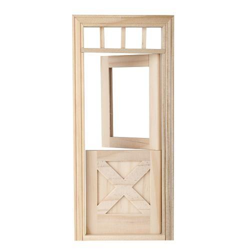 Awesome dutch door exterior on 6009 crossbuck dutch door item 6009 exterior door acrylic window for Exterior transom windows that open