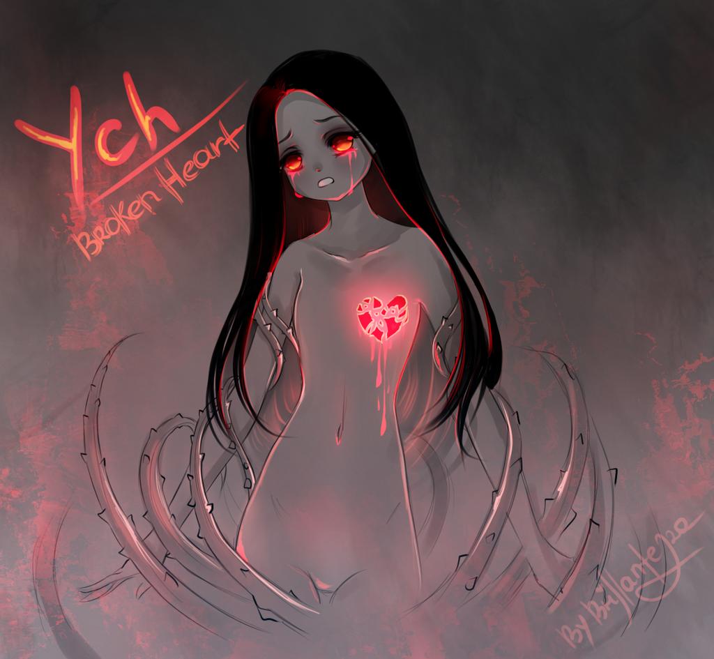 [CLOSE] YCH Auction Broken heart [42] by Brillantezza