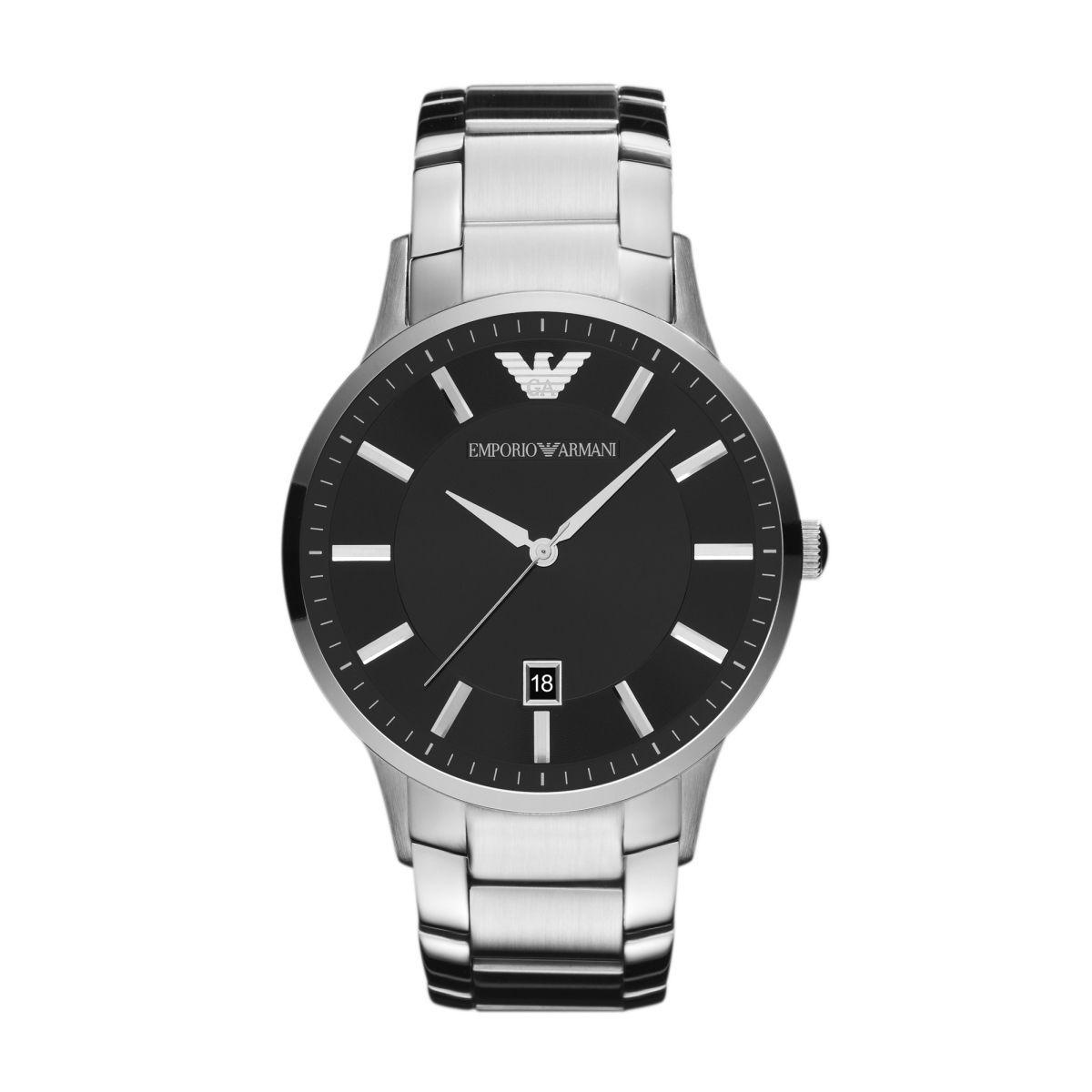 Emporio Armani Uhr Ar2457 Renato Mit Gravur Emporio Armani Mens Watches Stainless Steel Bracelet Men Armani Watches