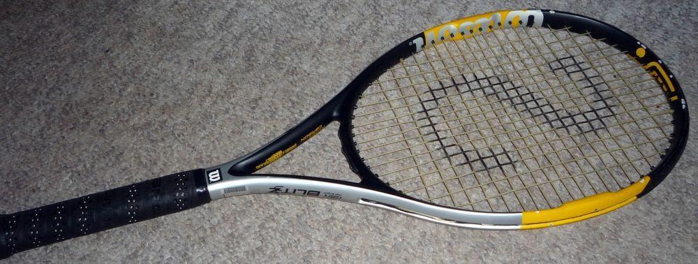 NEW RARE Wilson Ncode N Pro Open 100 head 4 1//2 grip Tennis Racquet