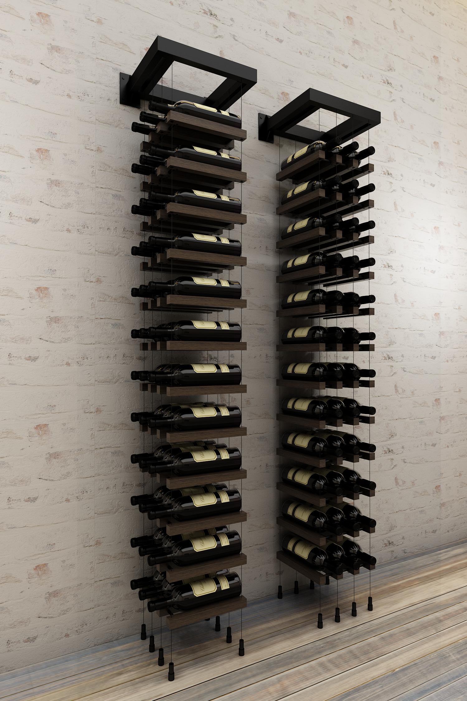 Wm36 Black Modern Wine Rack Home Wine Cellars Wine Rack Wall