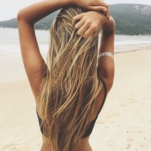 Image Via We Heart It A Sense Of Summer Pinterest Blonde