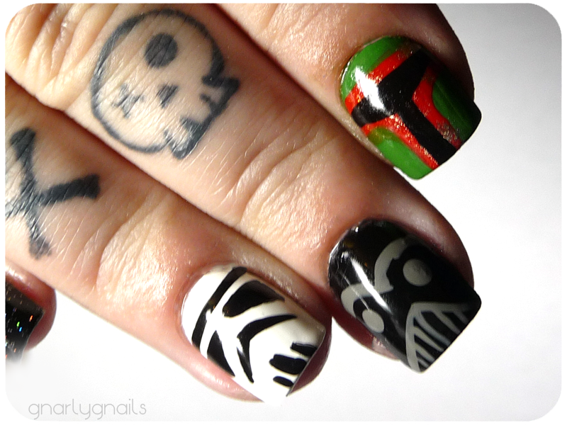 star wars nails site gnarly
