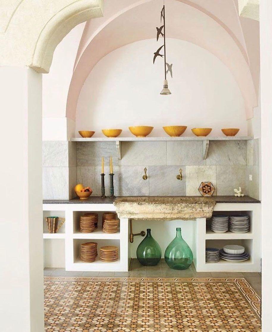 Pin de L S en kitchen | Pinterest | Cocinas, Casa playa y Rincón ...