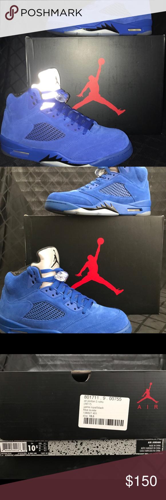 564805747754ae Men s Air Jordan Sneakers AIR JORDAN 5 RETRO