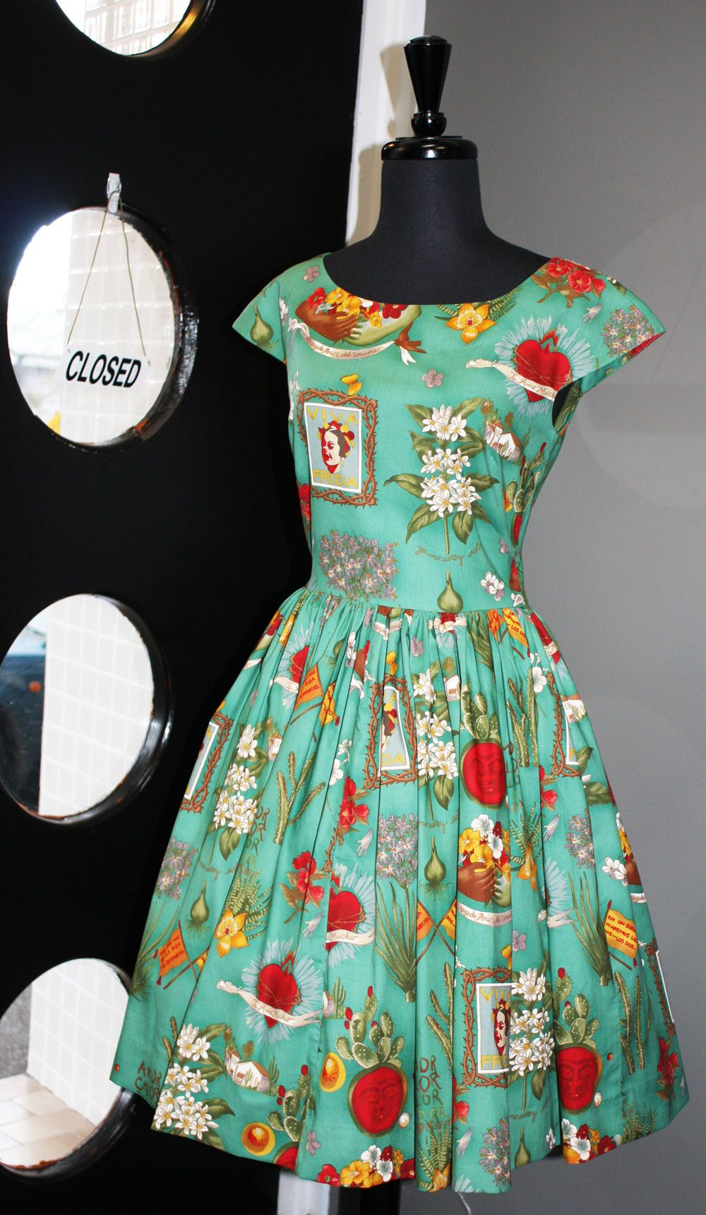 Cool Frida Kahlo Dress Look Closely Dress Patterns