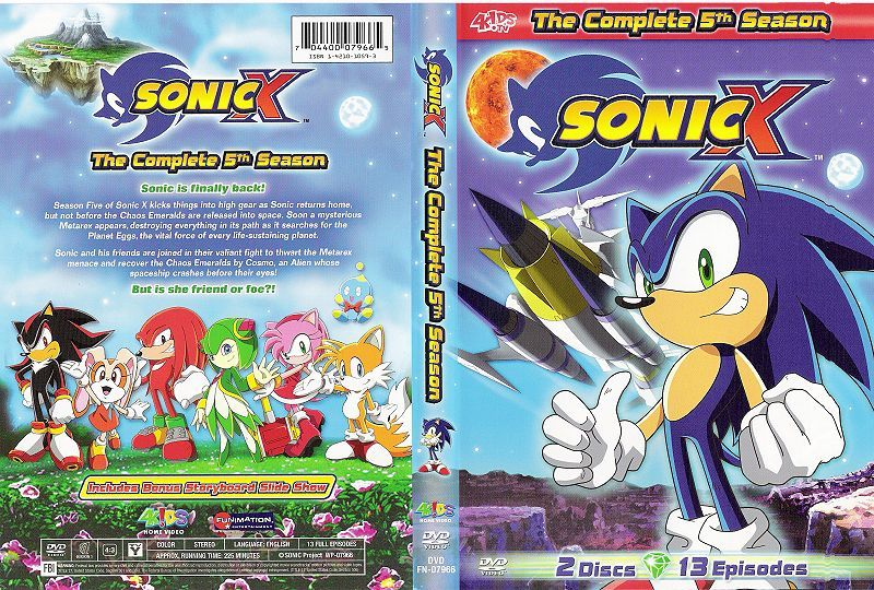 Sonic X Dvd Sonic Sonic The Hedgehog Frosted Flakes Cereal Box