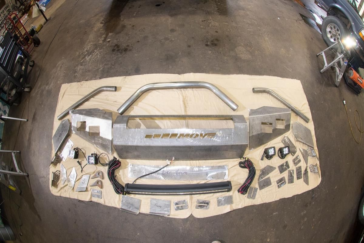 DIY PreRunner Bumper Kit (lights or wiring harnesses not ...