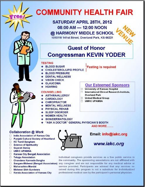 Flyer Sample Health Fair Ideas Pinterest Health Fair
