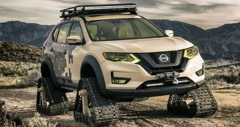 Nissan Rogue gets tracks for New York Nissan rogue