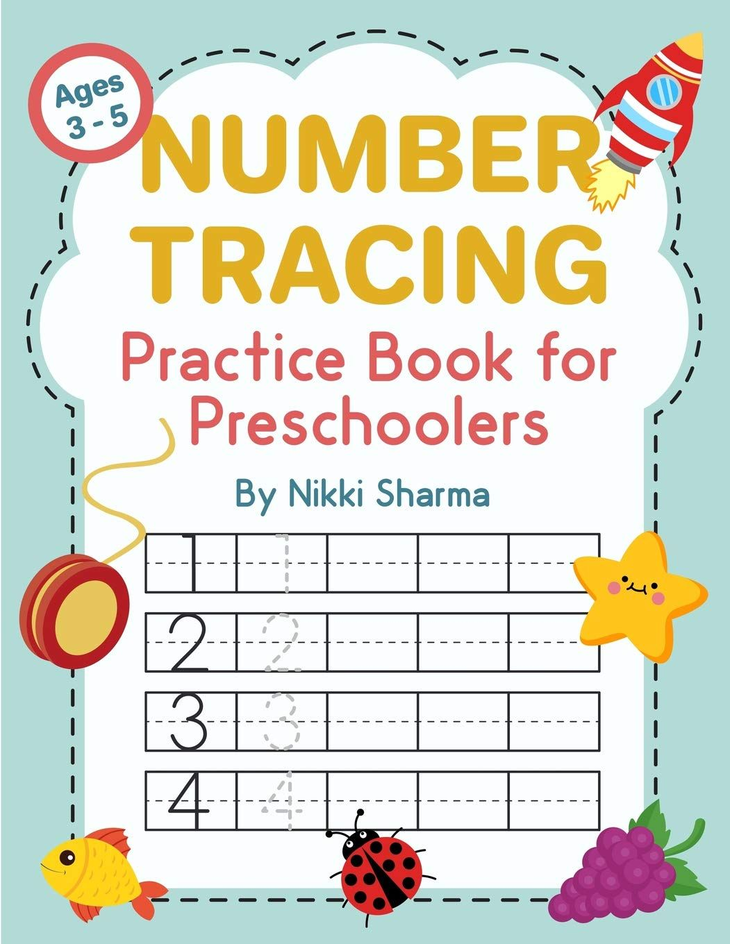 Numbers Tracing Practice Book For Preschoolers Book Can