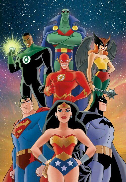 La Liga De La Justicia Dc Comics Characters Dc Comics Art Superhero Comic