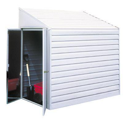 Yardsaver 4 Ft X 10 Ft Storage Shed Kits Diy Storage Shed Storage Shed Plans