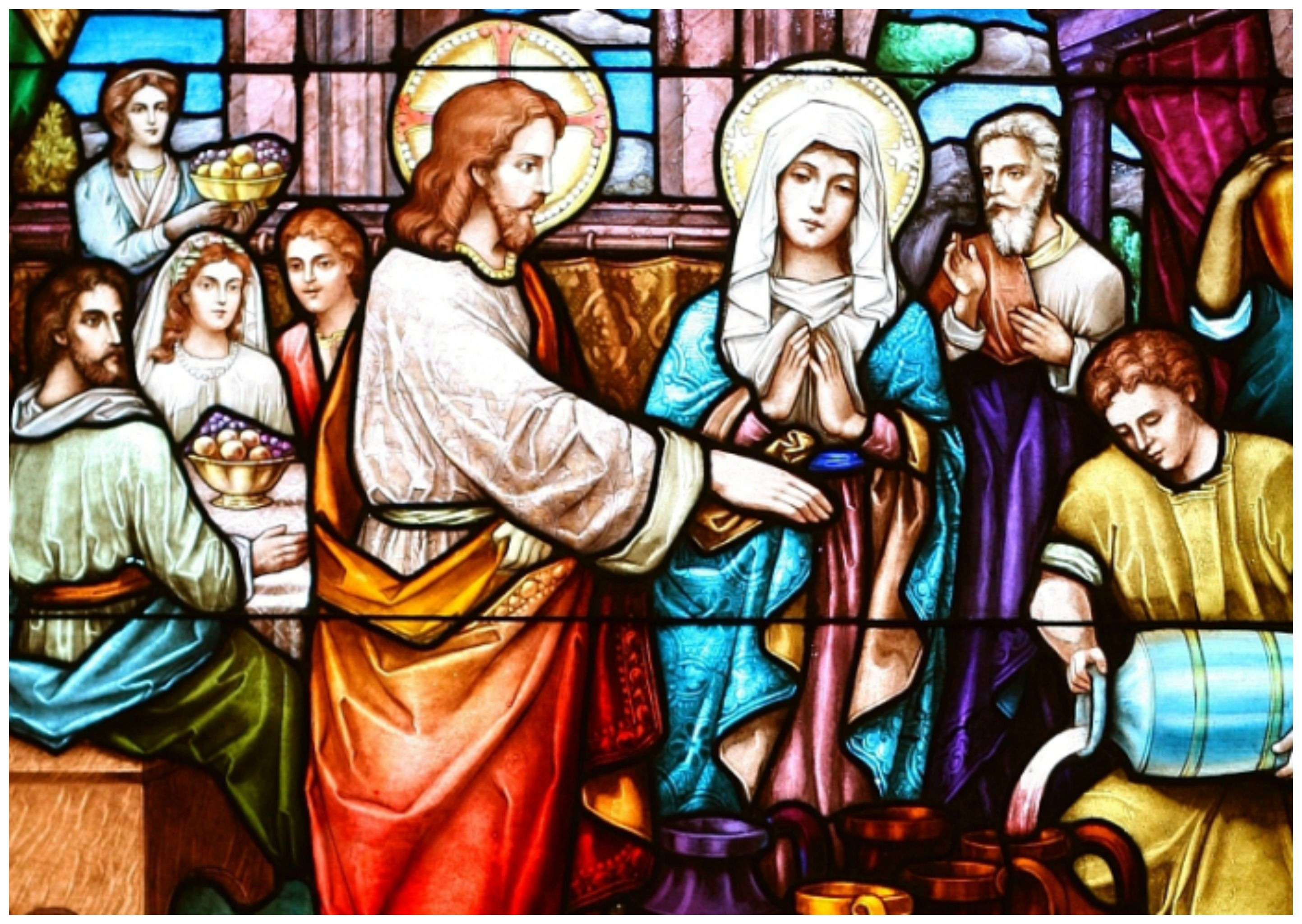Wedding Feast At Cana.The Second Luminous Mystery The Wedding Feast At Cana On The Third