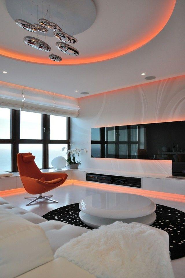 Indirekte Beleuchtung Wohnzimmer Ideen Stilvoll Design Bath