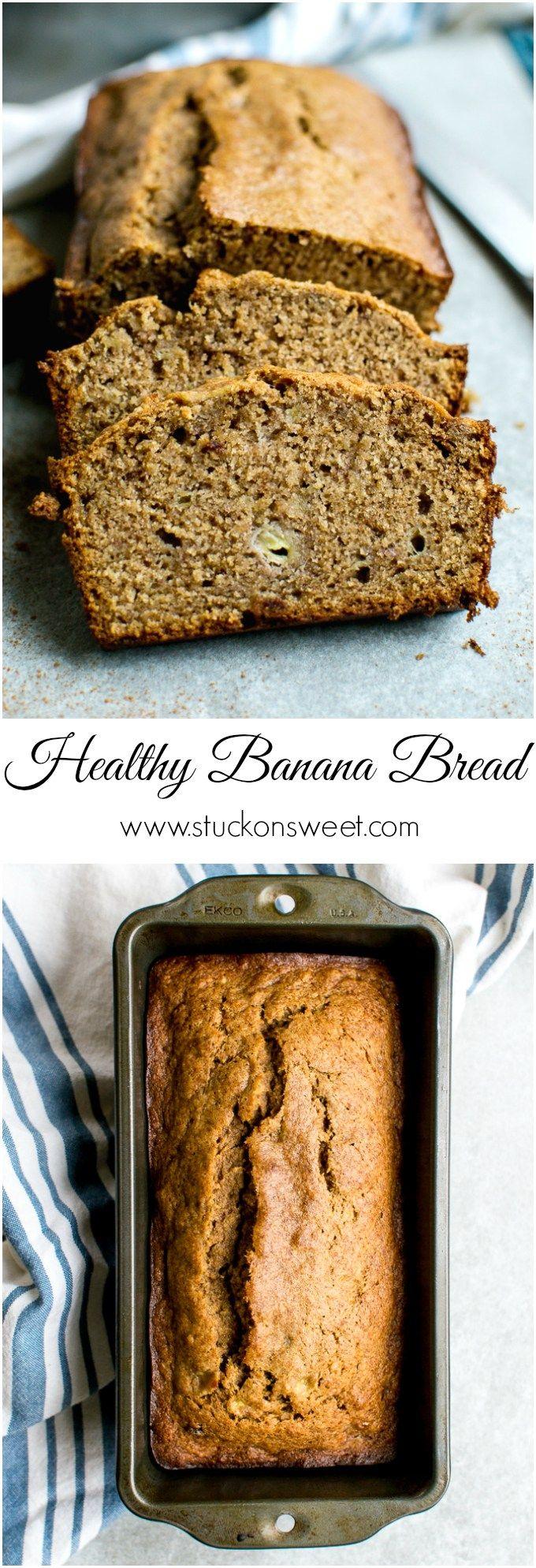 Healthy Banana Bread Recipe Do It Yourself Today Banana