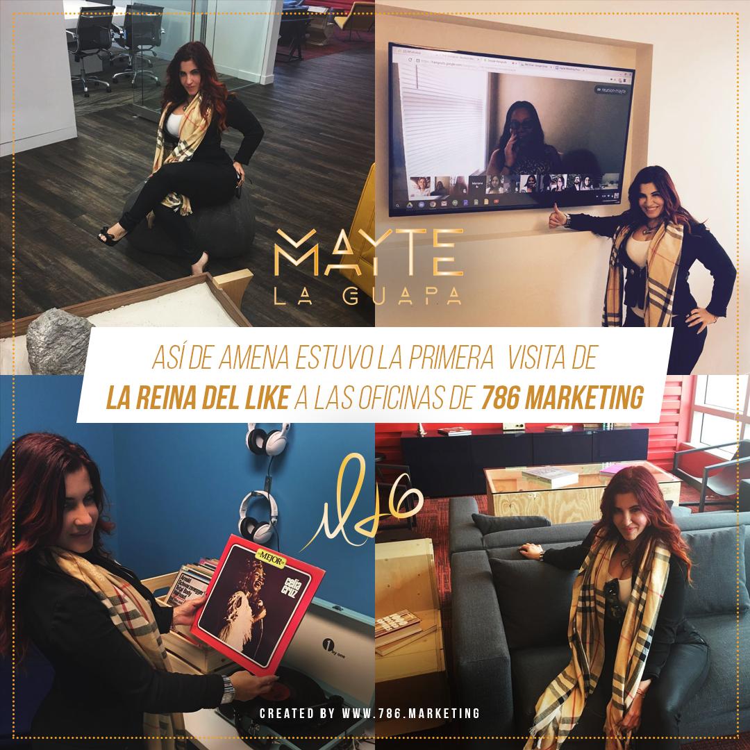 Una tarde con tu equipo de trabajo afinando estrategias y conociendo las nuevas oficinas... Momento Feliz! #Reina #like #Blog #Facebook #Instagram #Tumblr #RedesSociales #Musica #Smile #Latina #Talento #Fashion #Style #Estrella #Love @sarasotooneidol @yadixcm @fusion4media @maytelaguapamusic @MAYTETEAM @djconds #likeMLGOFICIAL Patrocinada por @postquamusa Mayte la Guapa