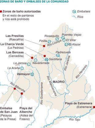 Ruta De Embalses Y Pantanos De Madrid Piscinas Naturales