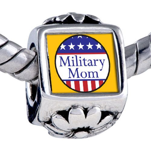 MILITARY MOM CharmAuthentic by heartsongtartsnfinds on Etsy, $3.50