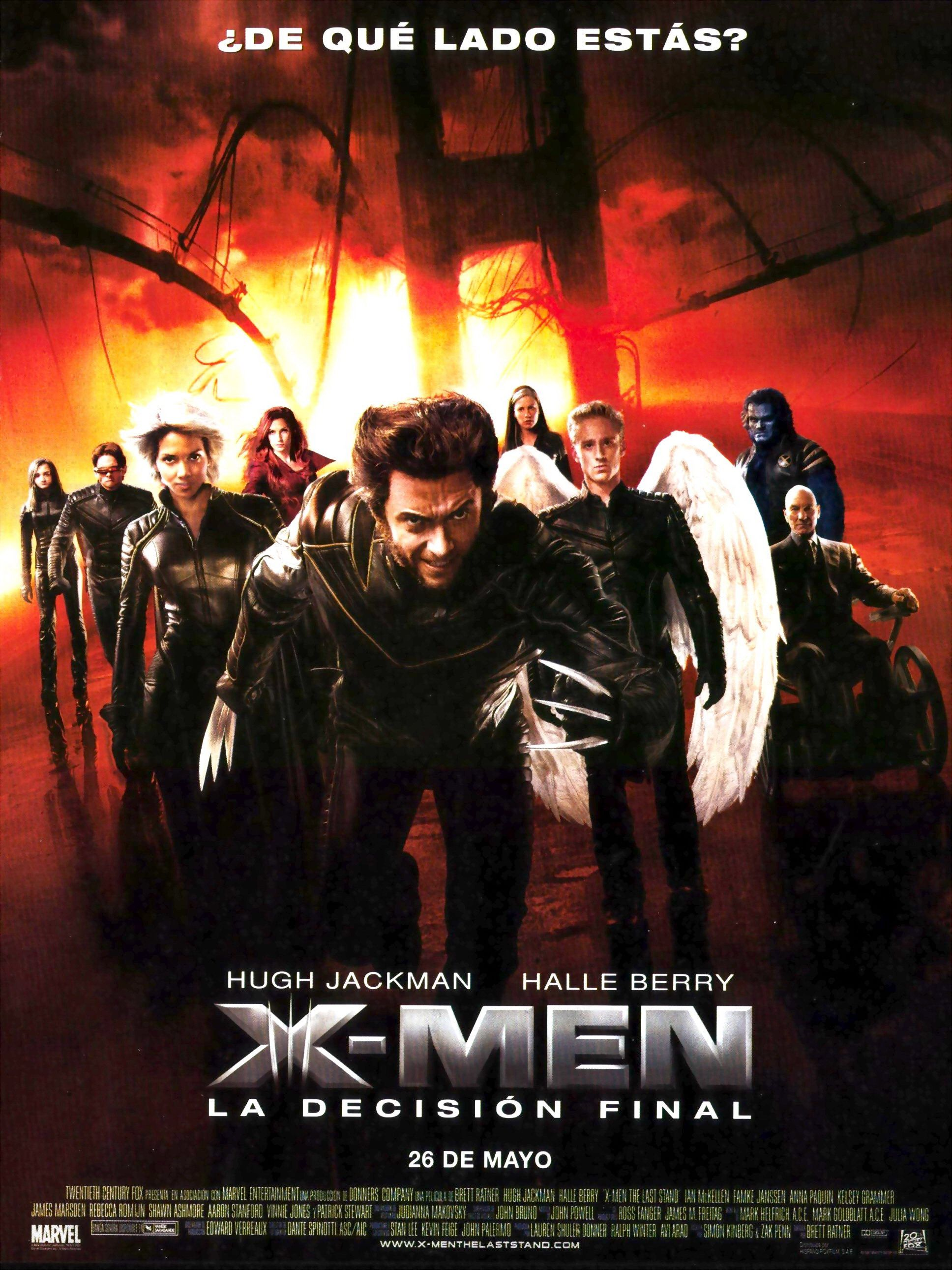 2006 - X-Men 3 La decisión final - X-Men The Last Stand - tt0376994