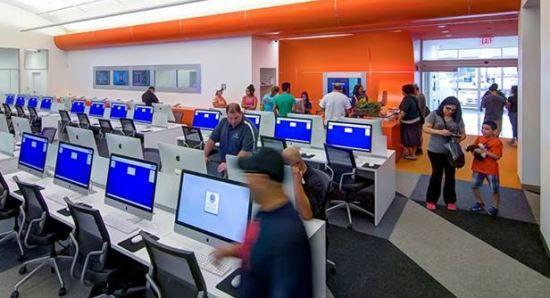 Bexar Bibliotech, sähköinen kirjasto