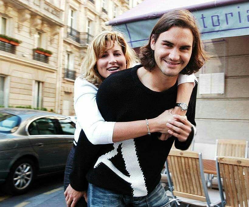 Roger and Mirka 1 Roger FedererMr peRFect GOAT