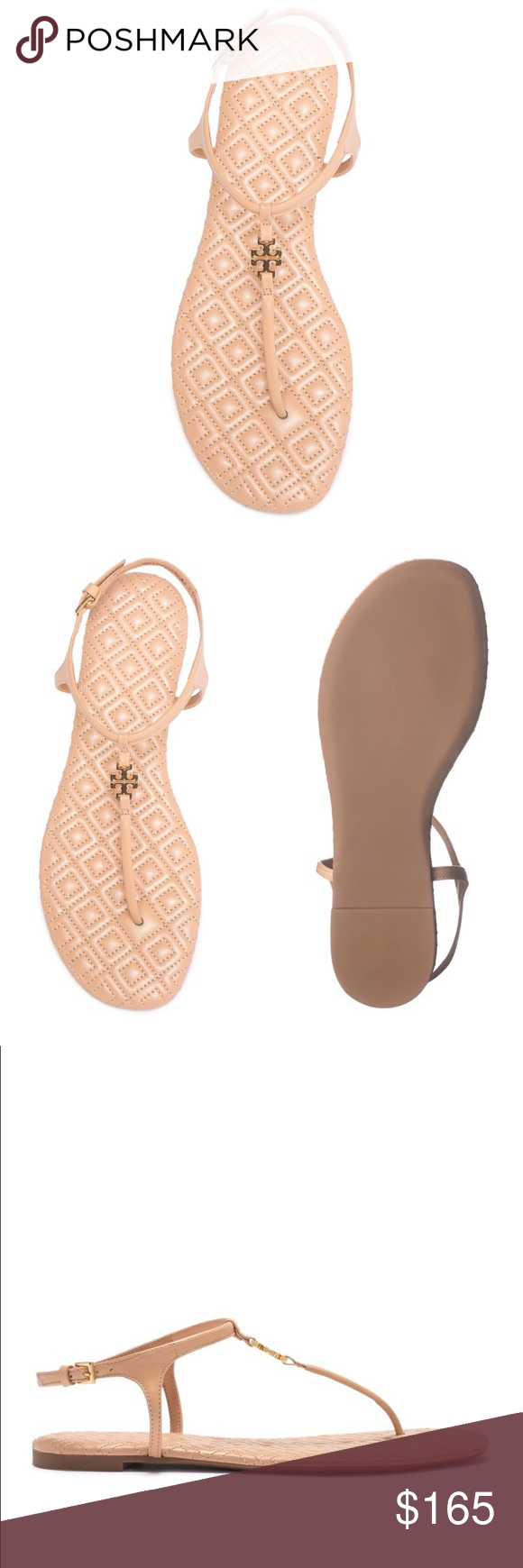 40eced12c BNIB Tory Burch Marion Quilted Sandal BNIB Tory Burch Marion Quilted Sandal  Really cute