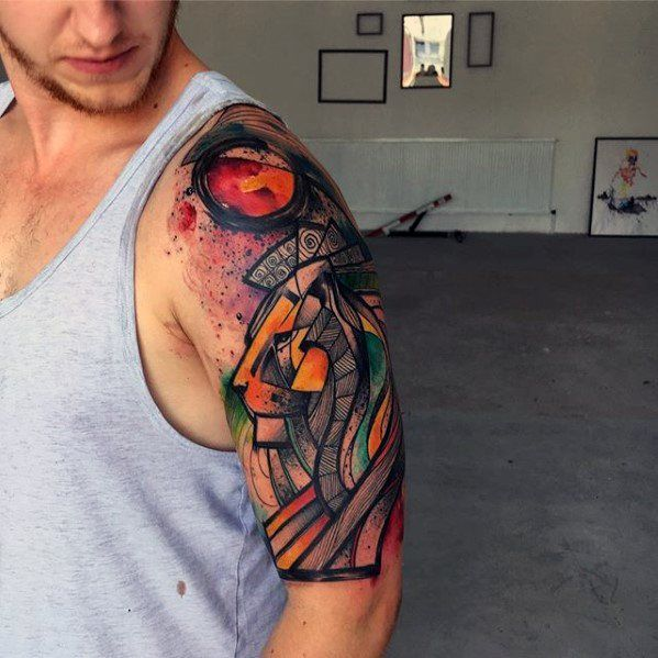 50 Artsy Tattoos For Men Artistic Ink Design Ideas Tattoos For